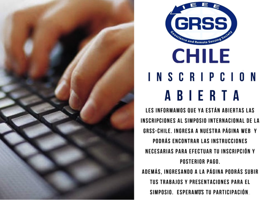 Inscripciones Simposio GRSS-CHILE
