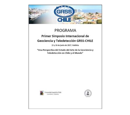 Programa Simposio GRSS-CHILE